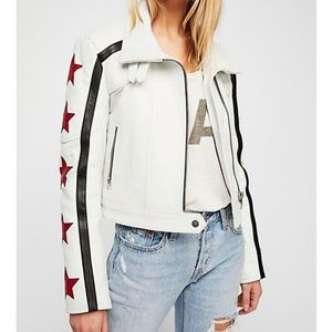 Star Power Leather Jacket